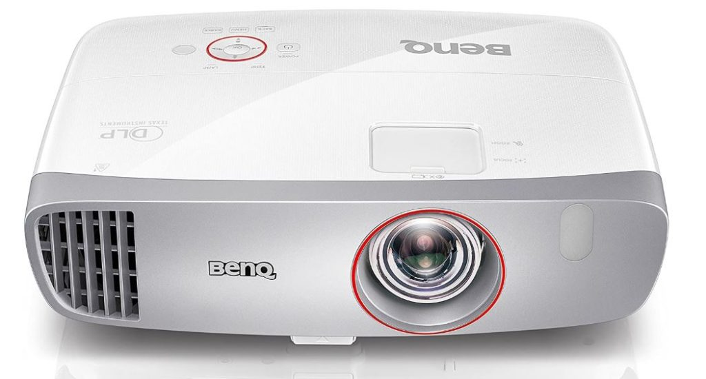 BenQ W1210ST Proyector de video Gaming 1080P Full HD, 2 altavoces de 10W