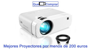 Mejores Proyectores por menos de 200 euros