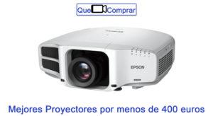 Mejores Proyectores por menos de 400 euros
