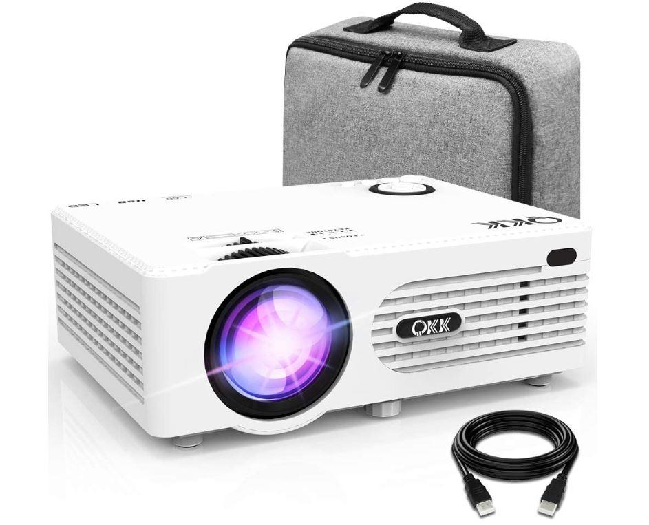 Proyector QKK 4500 Lumen Soporta 1080P Full HD