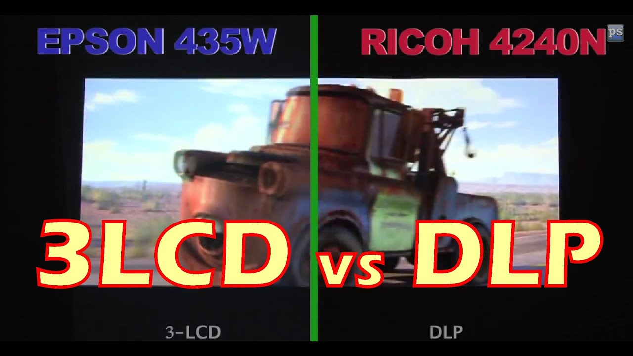 DLP versus LCD