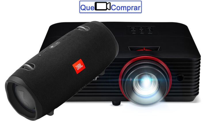 Conectar Altavoces a Proyector